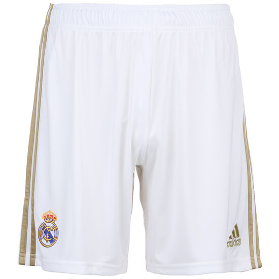 Real Madrid Short Home 2019/2020 Herren, weiß, zoom bei OUTFITTER Online