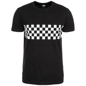Check Panel T-Shirt Herren, schwarz / weiß, zoom bei OUTFITTER Online