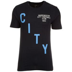Manchester City Squad Trainingsshirt Herren, Schwarz, zoom bei OUTFITTER Online