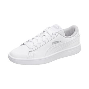 Smash v2 Leather Sneaker Kinder, Weiß, zoom bei OUTFITTER Online