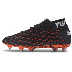 Future 6.1 NETFIT MxSG Fußballschuh Herren, schwarz / orange, zoom bei OUTFITTER Online