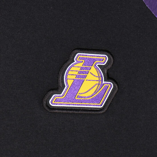 Los Angeles Lakers Trainingsshirt Herren, schwarz / lila, zoom bei OUTFITTER Online