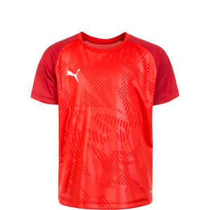 Cup Training Trainingsshirt Kinder, rot / dunkelrot, zoom bei OUTFITTER Online