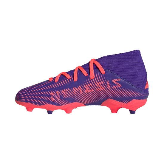 Nemeziz .3 FG Fußballschuh Kinder, lila / pink, zoom bei OUTFITTER Online