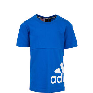 Must Haves Badge Of Sport Trainingsshirt Kinder, blau / weiß, zoom bei OUTFITTER Online