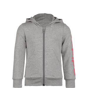 Essentials Linear Kapuzenjacke Kinder, grau / rosa, zoom bei OUTFITTER Online
