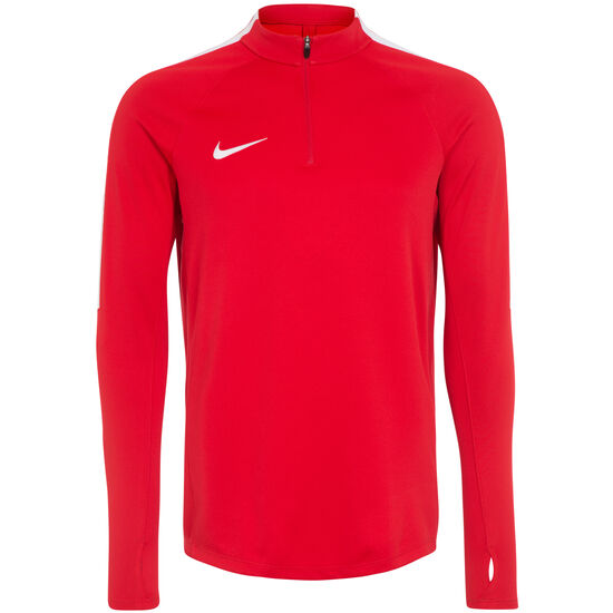Dry Squad 17 Drill Longsleeve Herren, rot / weiß, zoom bei OUTFITTER Online