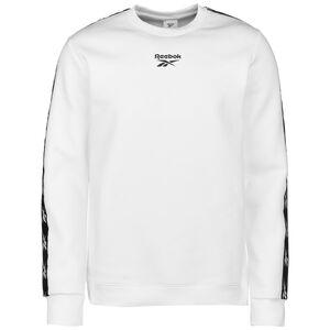 Training Essentials Tape Crew Sweatshirt Herren, weiß / schwarz, zoom bei OUTFITTER Online