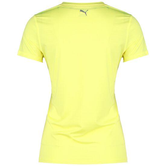 Run Logo Laufshirt Damen, neongelb, zoom bei OUTFITTER Online