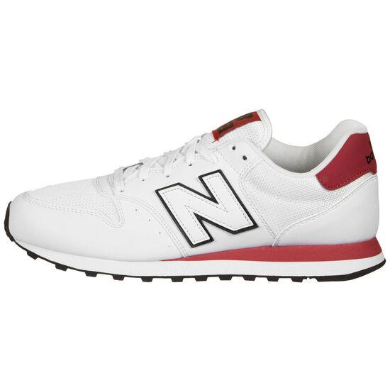 500 Sneaker Herren, weiß / rot, zoom bei OUTFITTER Online
