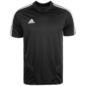 Tiro 19 Trainingsshirt Herren, schwarz / weiß, zoom bei OUTFITTER Online