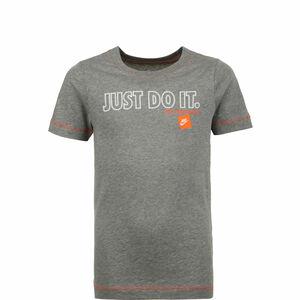 Just Do It T-Shirt Kinder, grau / weiß, zoom bei OUTFITTER Online
