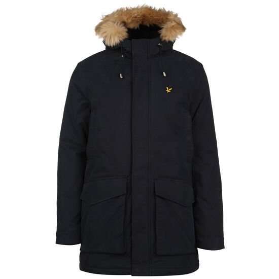 Winter Weight Microfleece Lined Parka Herren, dunkelblau, zoom bei OUTFITTER Online