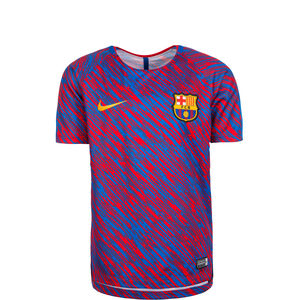 FC Barcelona Dry Squad Trainingsshirt Kinder, Rot, zoom bei OUTFITTER Online