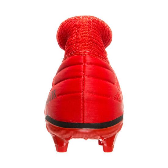 Predator 19.3 FG Fußballschuh Kinder, rot / schwarz, zoom bei OUTFITTER Online