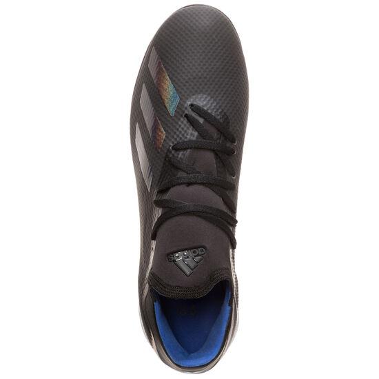 X 18.3 TF Fußballschuh Herren, schwarz / blau, zoom bei OUTFITTER Online