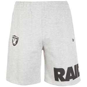 NFL Wrap Around Oakland Raiders Short Herren, hellgrau, zoom bei OUTFITTER Online