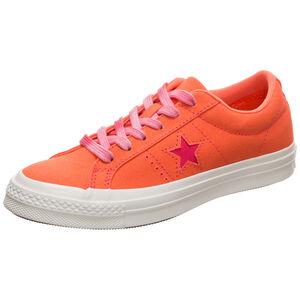 One Star OX Sneaker Damen, orange / weiß, zoom bei OUTFITTER Online