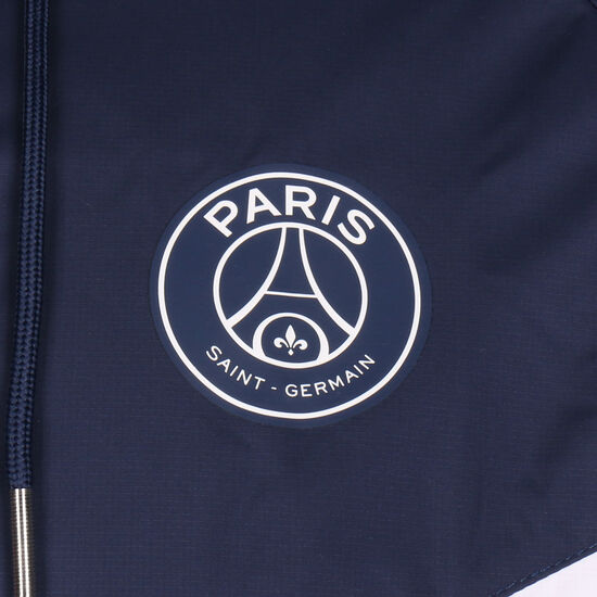 Paris St.-Germain Authentic Windrunner Kapuzenjacke Herren, weiß / dunkelblau, zoom bei OUTFITTER Online