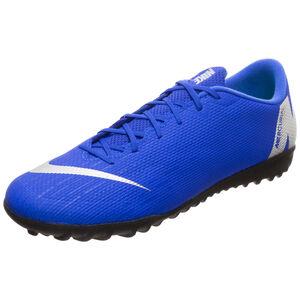Mercurial Vapor XII Academy TF Fußballschuh Herren, blau / silber, zoom bei OUTFITTER Online