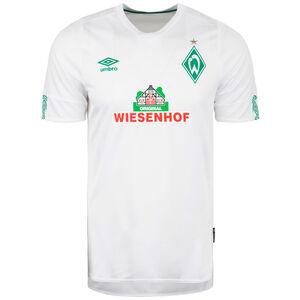 SV Werder Bremen Trikot Away 2019/2020 Herren, weiß / grün, zoom bei OUTFITTER Online