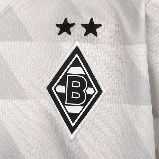 Borussia Mönchengladbach Trikot Home 2020/2021 Kinder, weiß / grau, zoom bei OUTFITTER Online