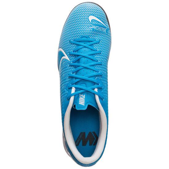 Mercurial Vapor XIII Academy Indoor Fußballschuh Herren, blau / weiß, zoom bei OUTFITTER Online