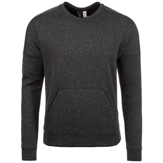 ID Stadium Crew Sweatshirt Herren, dunkelgrau / weiß, zoom bei OUTFITTER Online