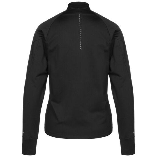 Windblock 1/2 Zip Laufshirt Damen, schwarz, zoom bei OUTFITTER Online