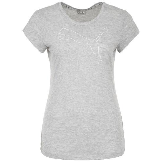 Active Logo T-Shirt Damen, hellgrau, zoom bei OUTFITTER Online