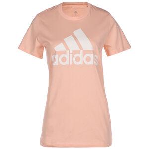 Must Haves Badge Of Sport Trainingsshirt Damen, korall / weiß, zoom bei OUTFITTER Online