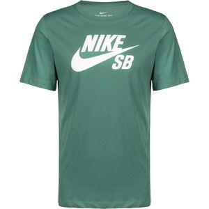 Dry Logo T-Shirt Herren, grün / weiß, zoom bei OUTFITTER Online