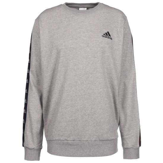Essentials Tape Sweatshirt Herren, grau / schwarz, zoom bei OUTFITTER Online