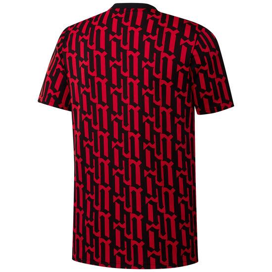 Arsenal London Pre-Match T-Shirt Herren, rot / schwarz, zoom bei OUTFITTER Online