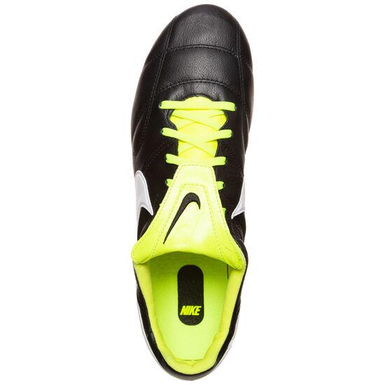Premier II SG Fußballschuh Herren, schwarz / neongelb, zoom bei OUTFITTER Online