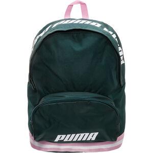 Core Rucksack Damen, dunkelgrün / rosa, zoom bei OUTFITTER Online
