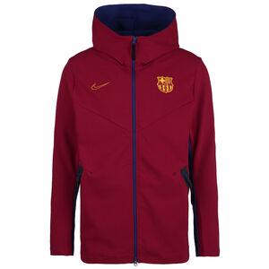 FC Barcelona Tech Pack Kapuzenjacke Herren, bordeaux, zoom bei OUTFITTER Online