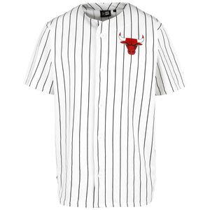 NBA Chicago Bulls Pinstripe Trikot Herren, weiß / schwarz, zoom bei OUTFITTER Online