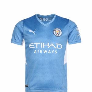 Manchester City Trikot Home 2021/2022 Kinder, hellblau / weiß, zoom bei OUTFITTER Online