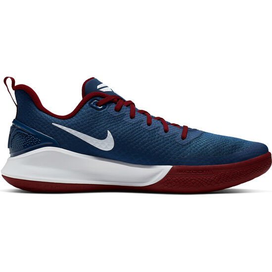 Mamba Focus Basketballschuhe Herren, dunkelblau / dunkelrot, zoom bei OUTFITTER Online