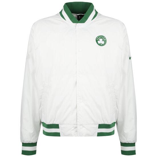 NBA Boston Celtics Courtside Jacke Herren, weiß / grün, zoom bei OUTFITTER Online