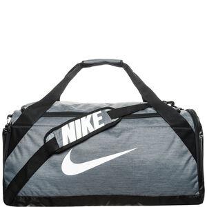 Brasilia Duffel Sporttasche Medium, grau / schwarz, zoom bei OUTFITTER Online