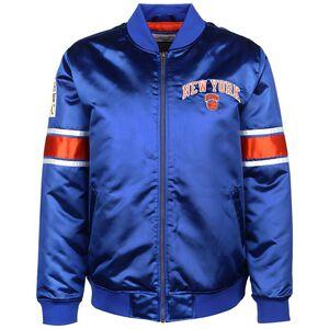 NBA New York Knicks Heavyweight Satin Jacke Herren, blau, zoom bei OUTFITTER Online