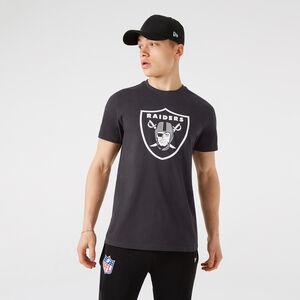 NFL Las Vegas Raiders Outline Logo T-Shirt Herren, anthrazit / weiß, zoom bei OUTFITTER Online