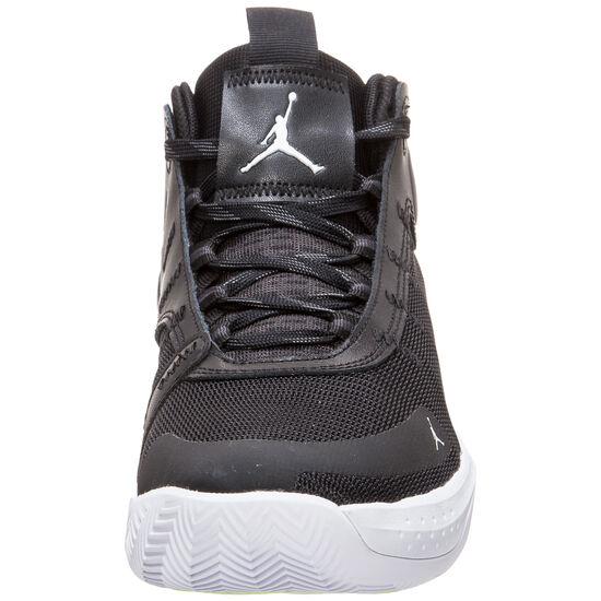 Jordan Jumpman 2020 Basketballschuhe Herren, schwarz / neongrün, zoom bei OUTFITTER Online