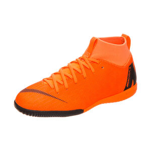Mercurial SuperflyX VI Academy Indoor Fußballschuh Kinder, Orange, zoom bei OUTFITTER Online