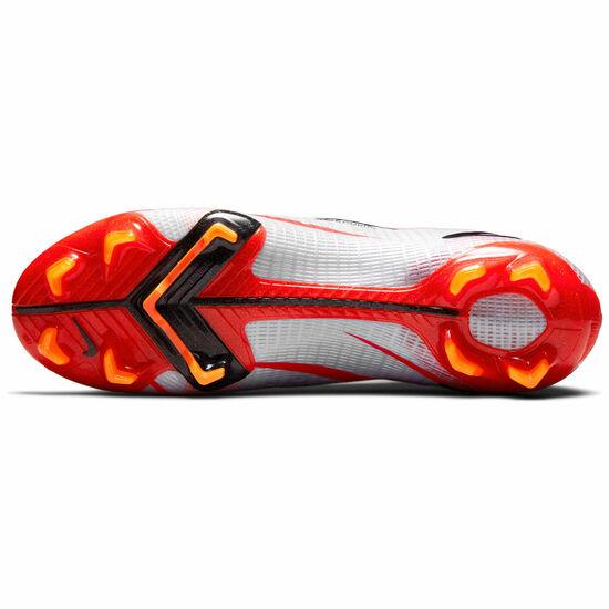 Mercurial Superfly 8 Elite CR7 DF FG Fußballschuh Herren, rot / weiß, zoom bei OUTFITTER Online