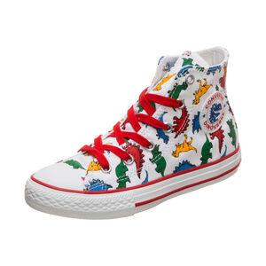 Chuck Taylor All Star Dinoverse High Sneaker Kinder, weiß / bunt, zoom bei OUTFITTER Online