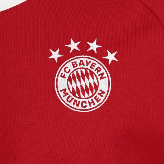 FC Bayern München Icons Longsleeve Herren, rot / weiß, zoom bei OUTFITTER Online