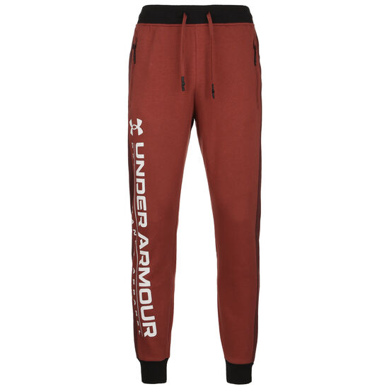 Rival Fleece AMP Jogger Trainingshose Herren, rot / weiß, zoom bei OUTFITTER Online